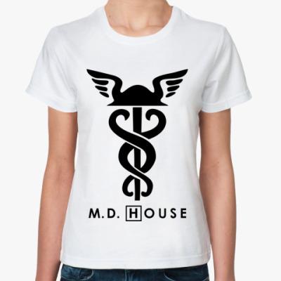 Классическая футболка m.d. House