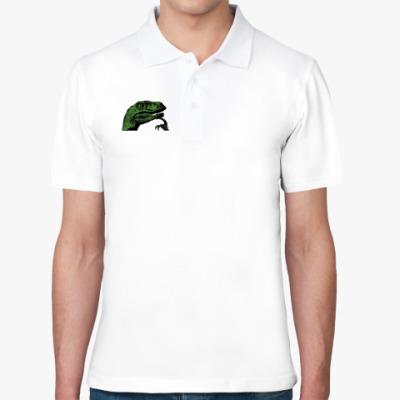 Рубашка поло  с Филосораптором