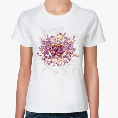 Классическая футболка Disco