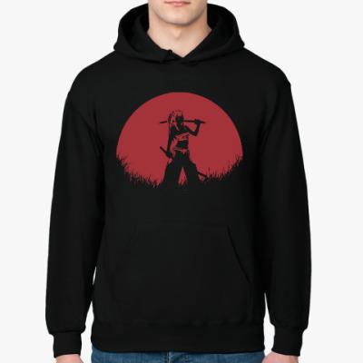 Толстовка худи Аниме самурай