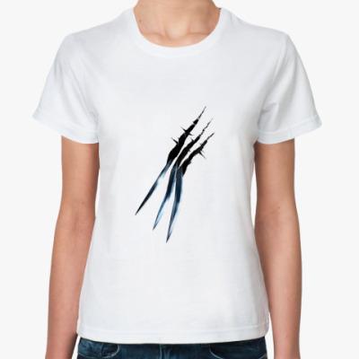 Классическая футболка Росомаха