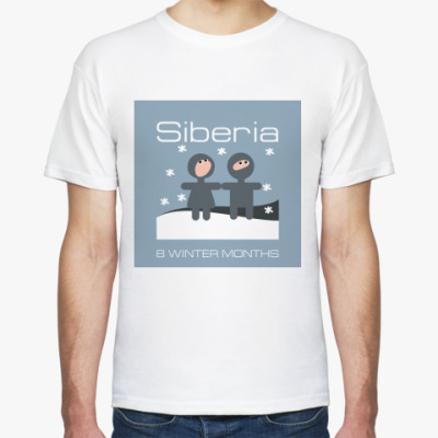 Футболка Siberia Long-Winter T-Shirt