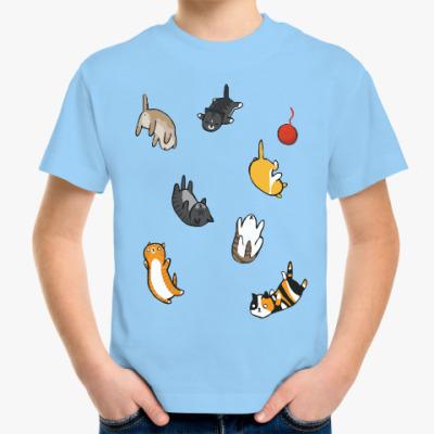 Детская футболка Котопад