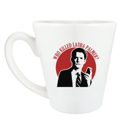 Чашка Латте Twin Peaks Dale Cooper