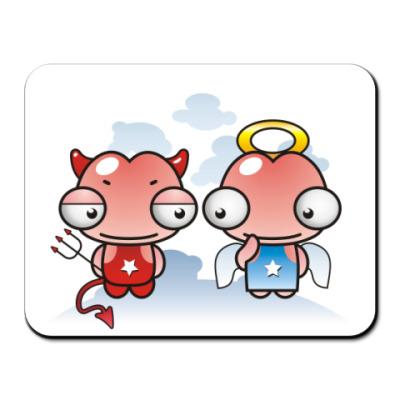 Коврик для мыши  ANGEL PENIS