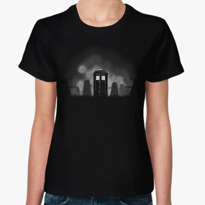 Женская футболка Тардис