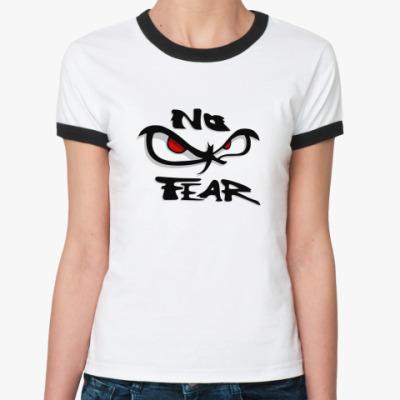 Женская футболка Ringer-T No Fear