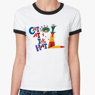 Женская футболка Ringer-T Cat