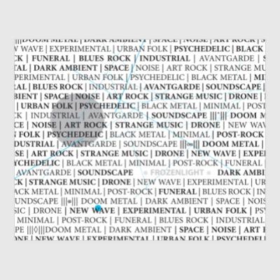 Постер музыкальные направления frozenlight
