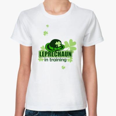 Классическая футболка Leprechaun in training