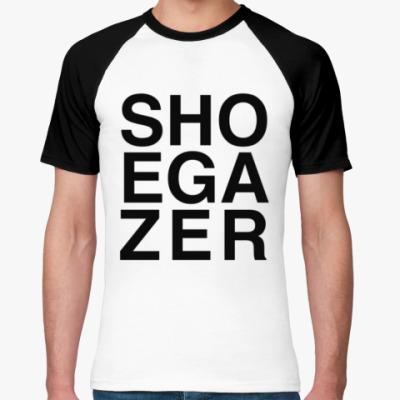 Футболка реглан Shoegazer — shoegaze sound