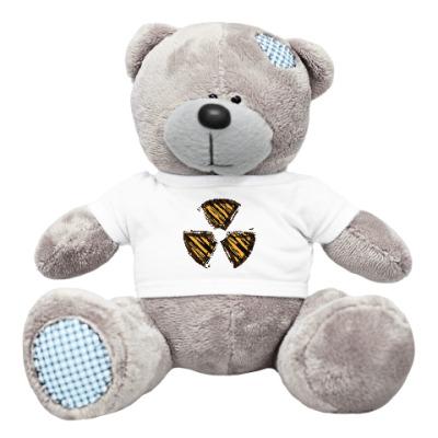 Плюшевый мишка Тедди Международный символ радиации