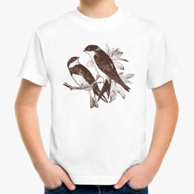 Детская футболка Bird Птица