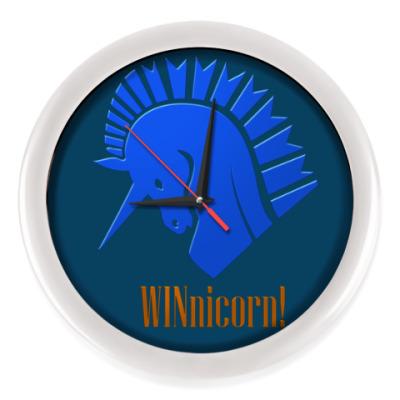 Настенные часы Единорог