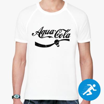 Спортивная футболка Безумный Макс : Aqua Cola
