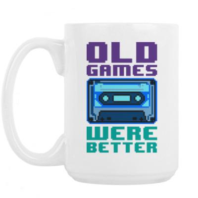 Кружка Oldschool games were better