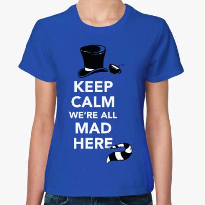 Женская футболка Шляпник