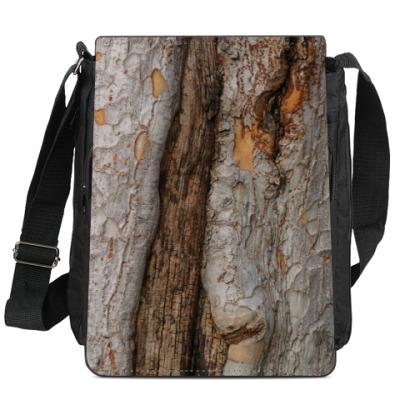 Сумка-планшет Деревяшка