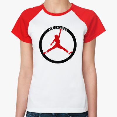 Женская футболка реглан Air Jackson