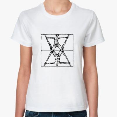 Классическая футболка Леонардо (ж)