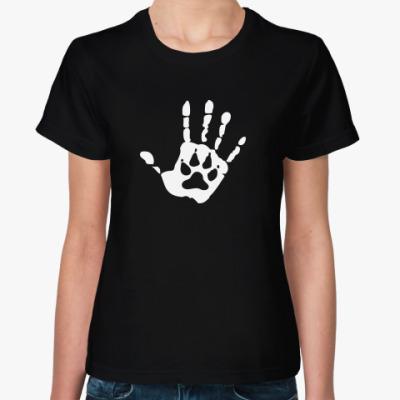 Женская футболка Рука Оборотня