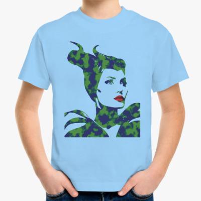 Детская футболка Малефисента