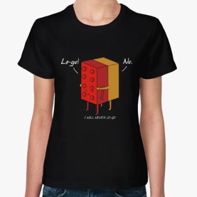 Женская футболка Lego Лего кубики Конструктор