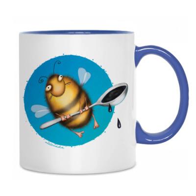 Кружка Пчела
