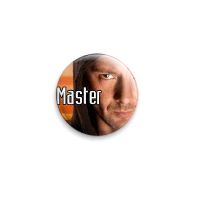 Значок 25мм  Master (WHO31)