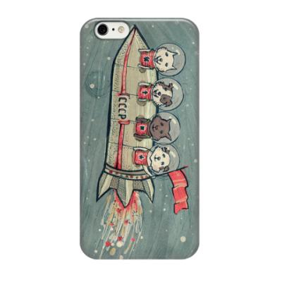 Чехол для iPhone 6/6s Косматые космонавты
