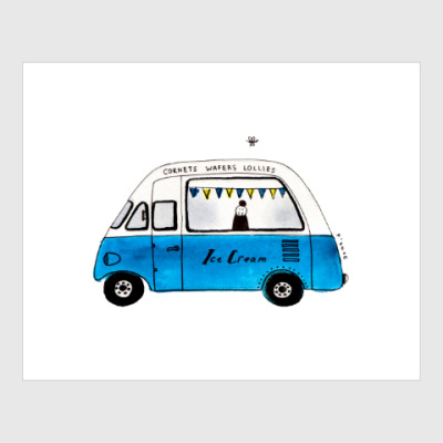 Постер Ice Cream Van