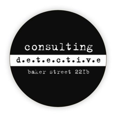 Костер (подставка под кружку) Consulting Detective