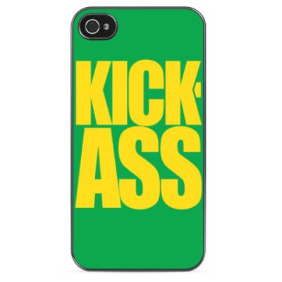 Чехол для iPhone 'KICK-ASS'