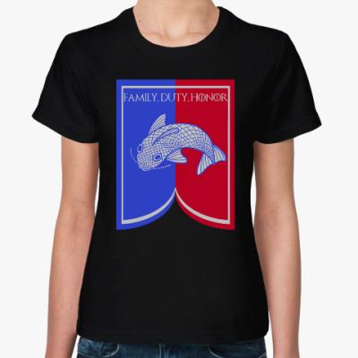 Женская футболка Дом Талли