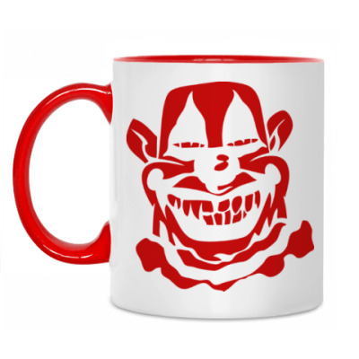 Кружка Злой клоун