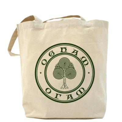Сумка Холщовая сумка Ogham