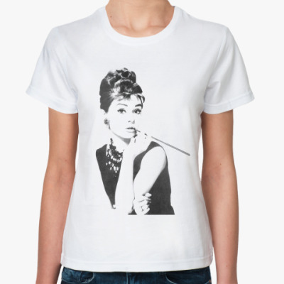 Классическая футболка  Audrey