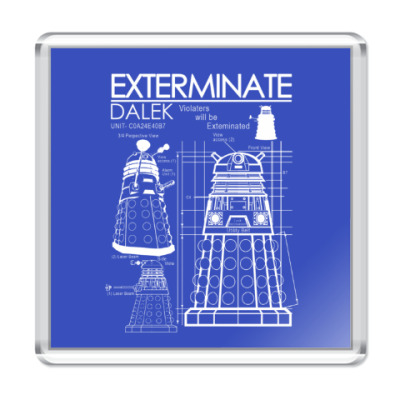 Магнит Dalek plan
