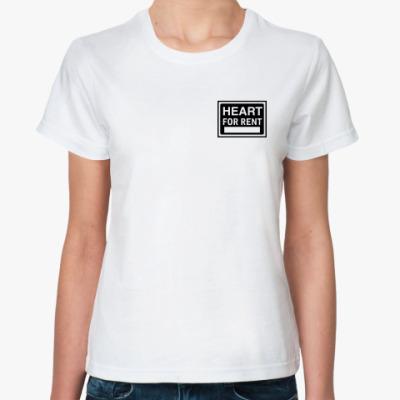 Классическая футболка Rent