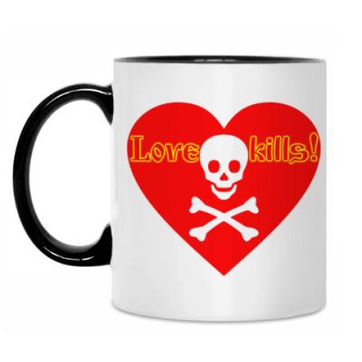 Кружка Love kills!