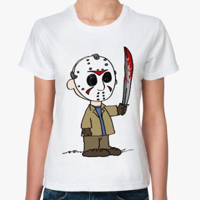 Классическая футболка Джейсон (Пятница 13)