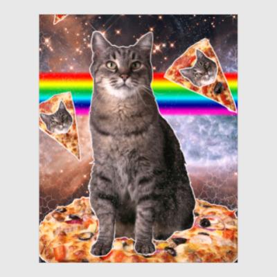 Постер Космический кот