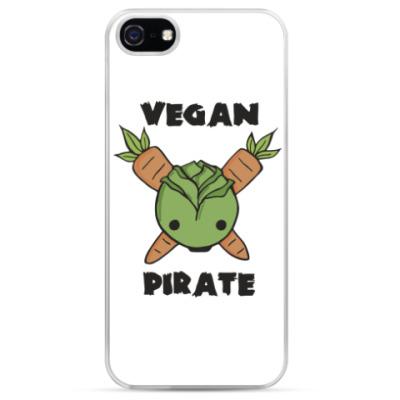 Чехол для iPhone Веган пират