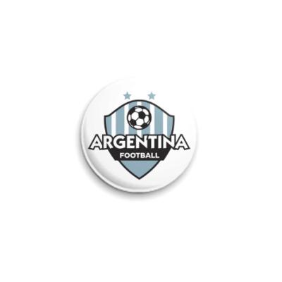 Значок 25мм Футбол Аргентины
