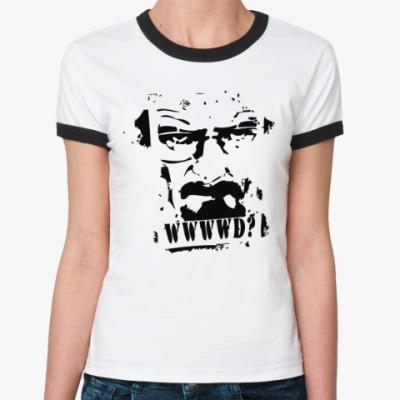 Женская футболка Ringer-T Heisenberg
