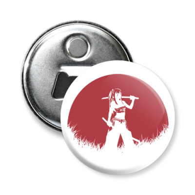 Магнит-открывашка Аниме самурай