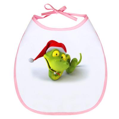 Слюнявчик Зеленая змея