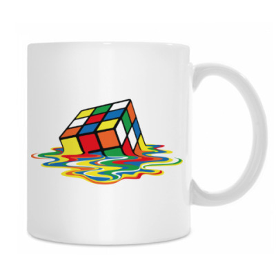 Кружка Кубик Рубика | Спидкубинг