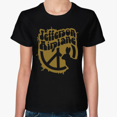 Женская футболка Jefferson Airplane