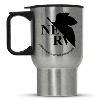 Кружка-термос Neon Genesis Evangelion NERV